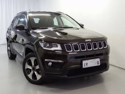 JEEP - COMPASS - 2017/2018 - Verde - R$ 104.900,00